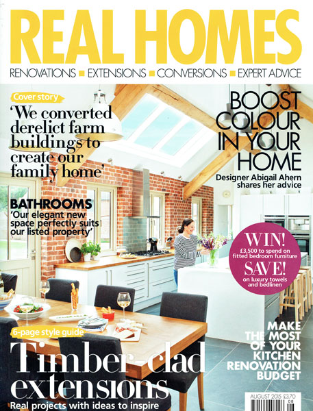 Real Homes, August 2015